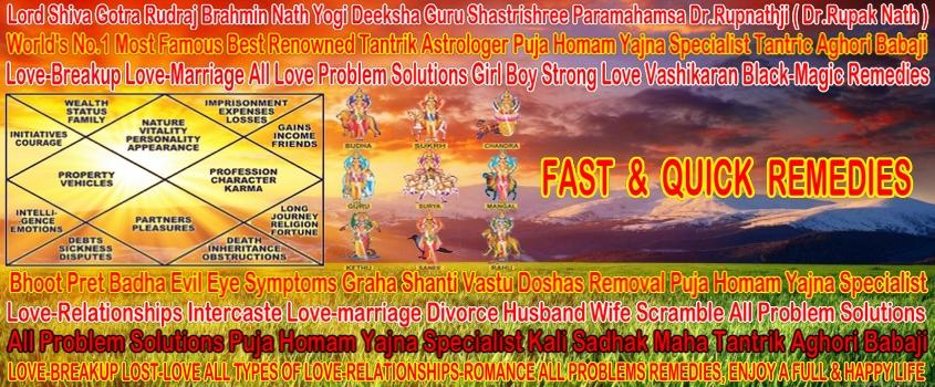 Voodo Black Magic Strong Vashikaran Intercaste Love-marriage Problem